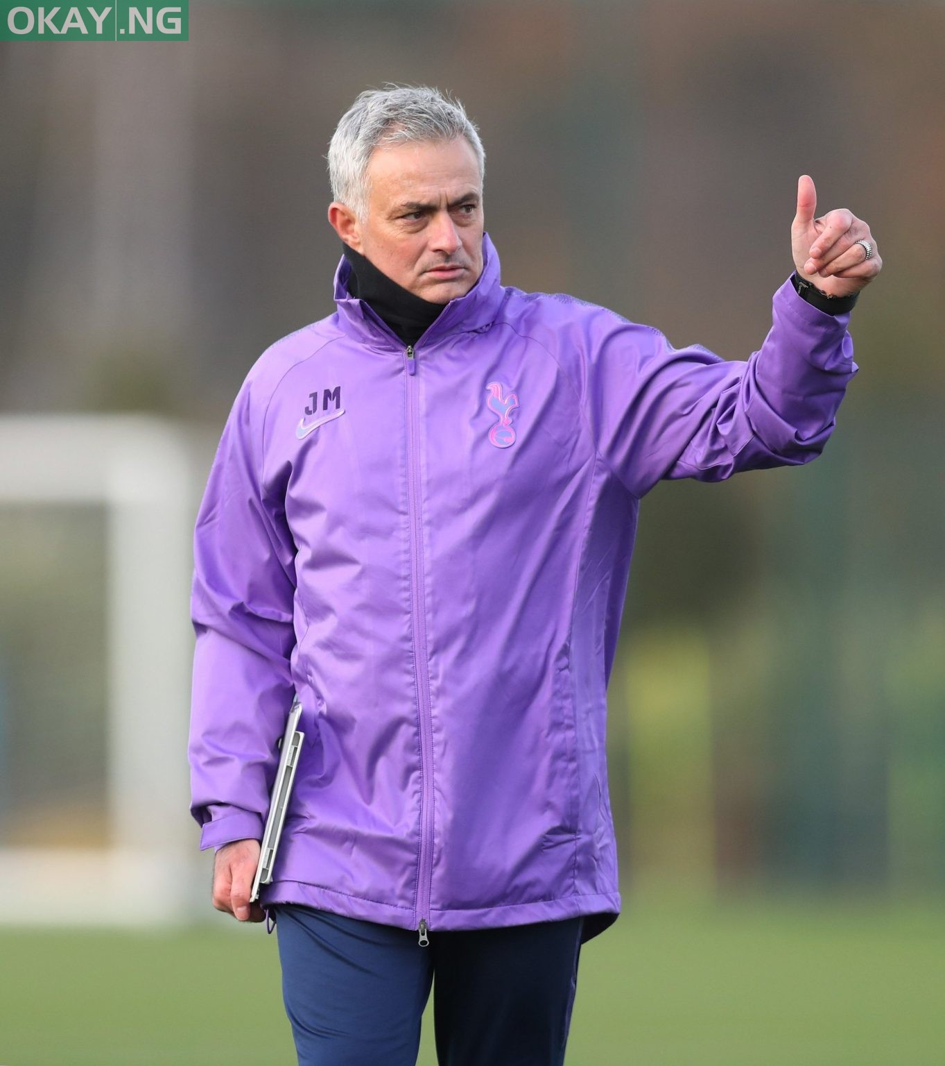 Mourinho at Tottenham Hotspur Stadium, White Hart Lane for his first training session