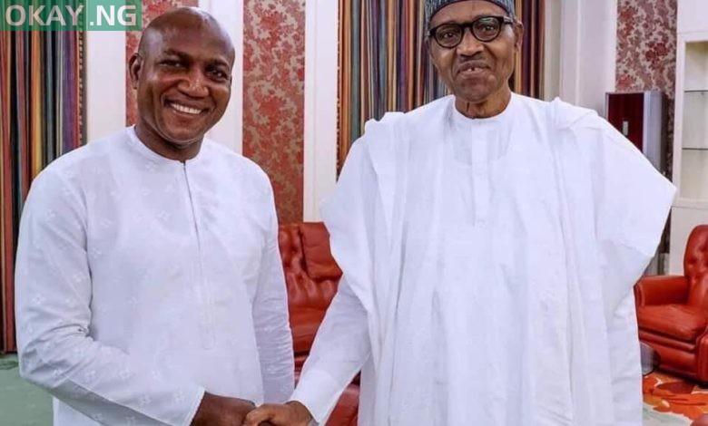 Photo of Buhari congratulates Bayelsa governor-elect, David Lyon