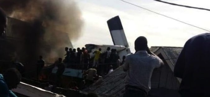 Photo of IN CONGO: Plane crashes with 17 persons on board