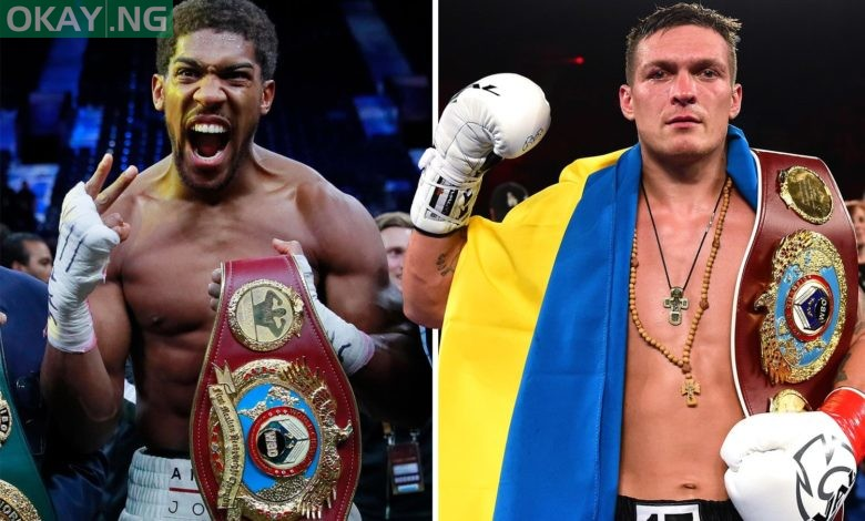 Photo of Anthony Joshua ordered to fight Oleksandr Usyk to retain WBO title