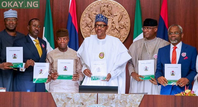 Photo of Buhari launches national security strategy 2019