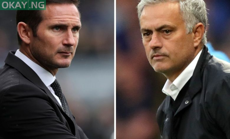 Photo of 'Mourinho will be desperate to beat us' – Lampard reveals