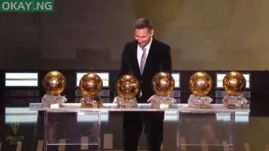Photo of Lionel Messi wins sixth Ballon D'or award
