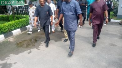 Photo of IN PHOTOS: Orji Uzor Kalu all smiles after prison sentencing