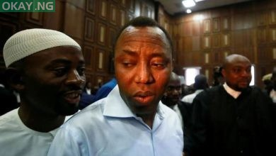 Photo of Sowore finally released after spending 124 days In DSS custody