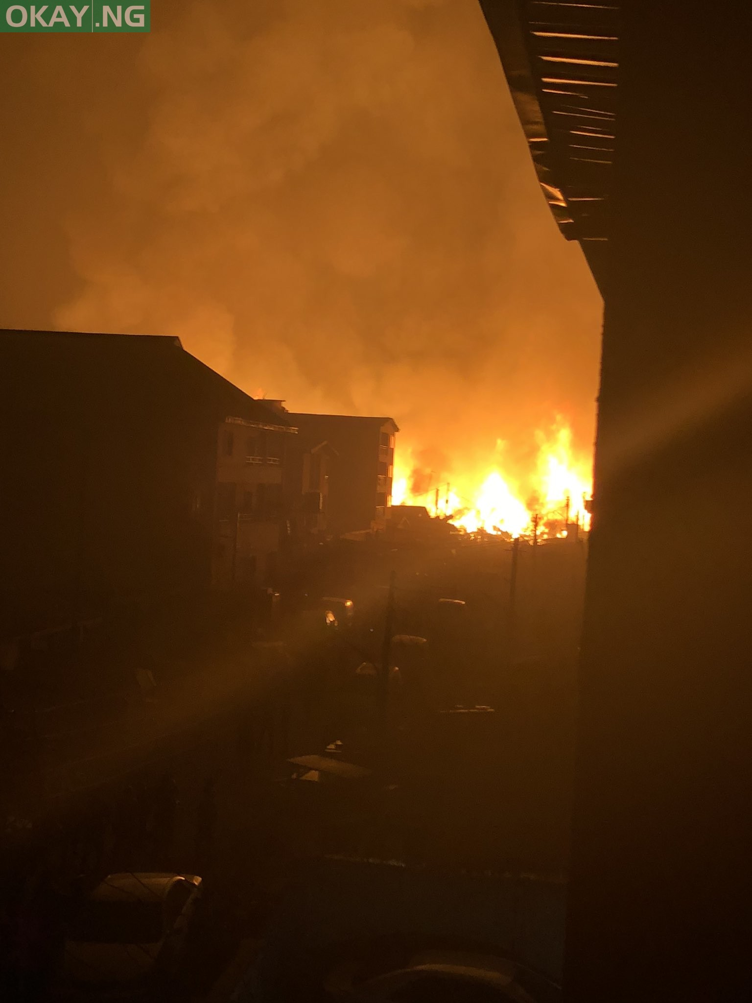 Photo of Fire outbreak rocks Amu timber market in Mushin, Lagos