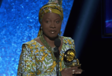 Photo of Angelique Kidjo dedicates Grammy Award to Burna Boy