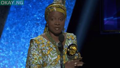 Photo of Angelique Kidjo dedicates Grammy Award to Burna Boy