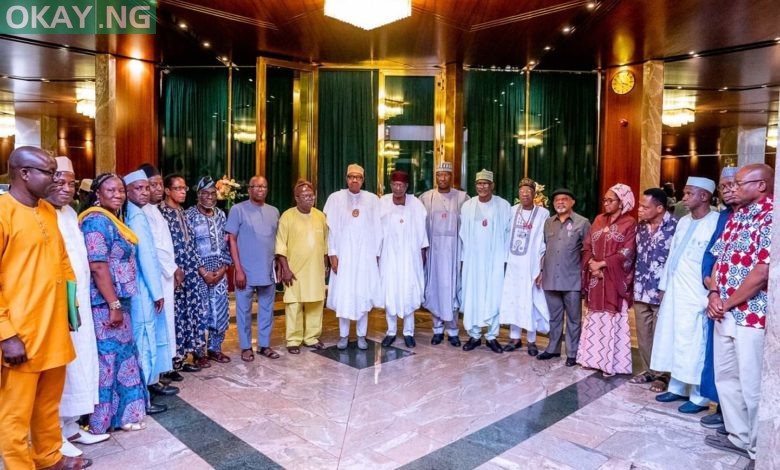 Photo of What Buhari discussed with ASUU leadership in Aso Villa [Details]