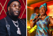 Photo of Burna Boy reacts after Angelique Kidjo dedicated Grammy Award to him