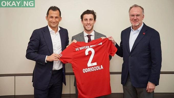Photo of Real Madrid right back Álvaro Odriozola joins Bayern Munich on loan deal