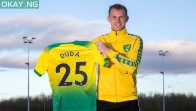 Photo of Hertha Berlin midfielder Ondrej Duda joins Norwich City on loan deal