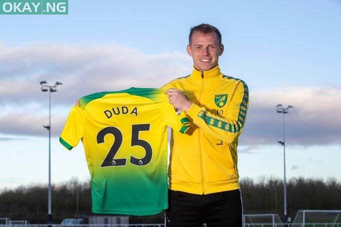 Photo of Hertha Berlin midfielder Ondrej Duda joins Norwich City on loan deal