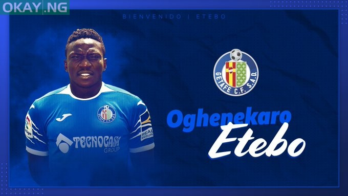 Photo of Etebo completes loan move to Getafe from Stoke City