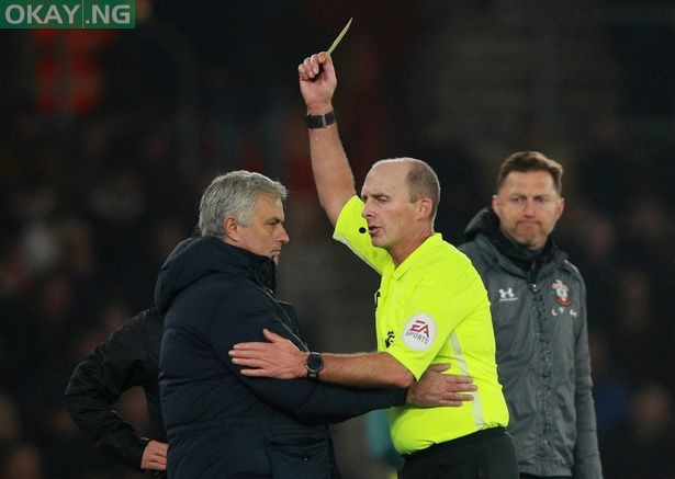 Photo of 'The yellow card is fair because I was rude' – Mourinho reveals