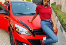 Photo of BBNaija's Khafi Kareem escapes car accident