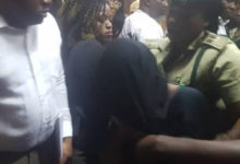 Photo of Maryam Sanda whisked away from court after death sentence (Video)