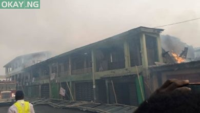 Photo of LASEMA gives update on fire outbreak in Ogba, Lagos