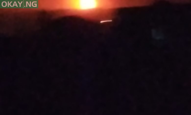 Photo of BREAKING! Tension in Abule-Egba as pipeline explodes