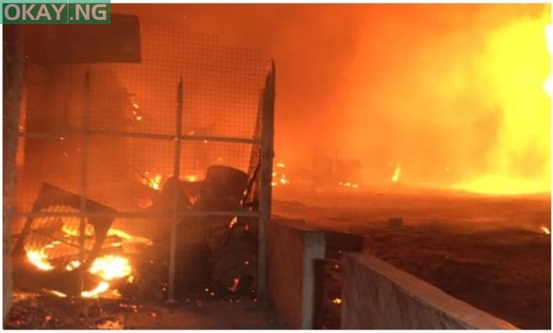Photo of LASEMA gives update on Abule-Egba pipeline explosion