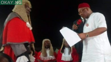 Photo of Uzodinma Takes Oath of Office as Imo State Governor