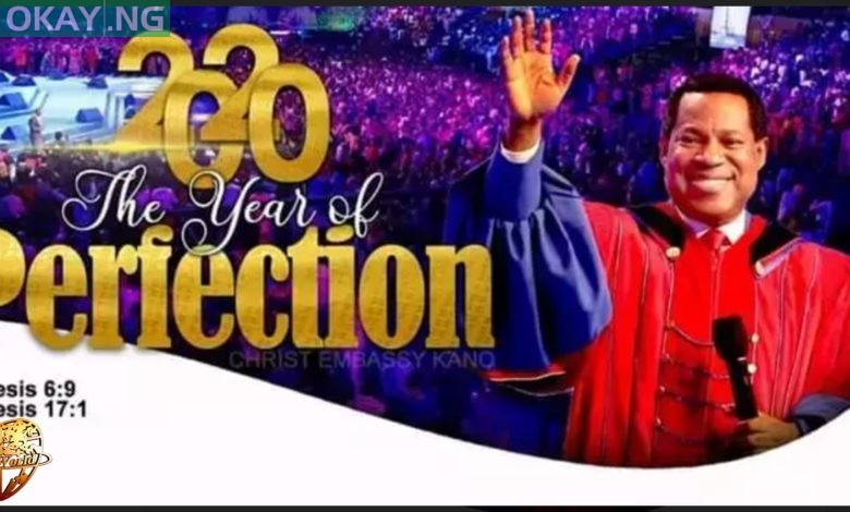 "Photo of ""Year Of Perfection"" Is Ushered In By Pastor Chris Oyakhilome With A Prophetic Plan"