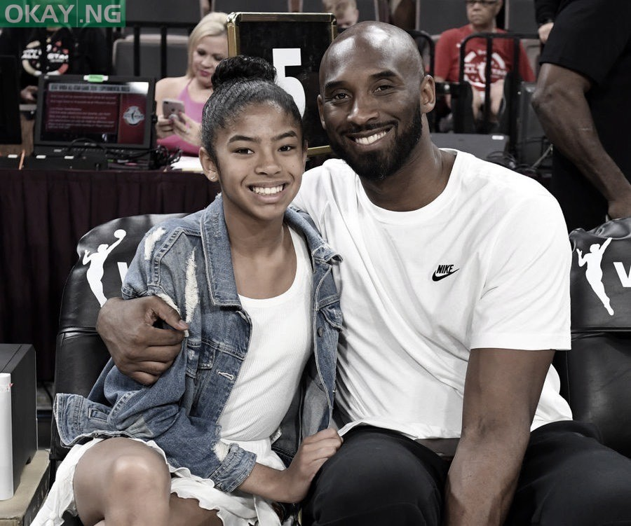 Gianna Maria and her dad, Kobe Bryant