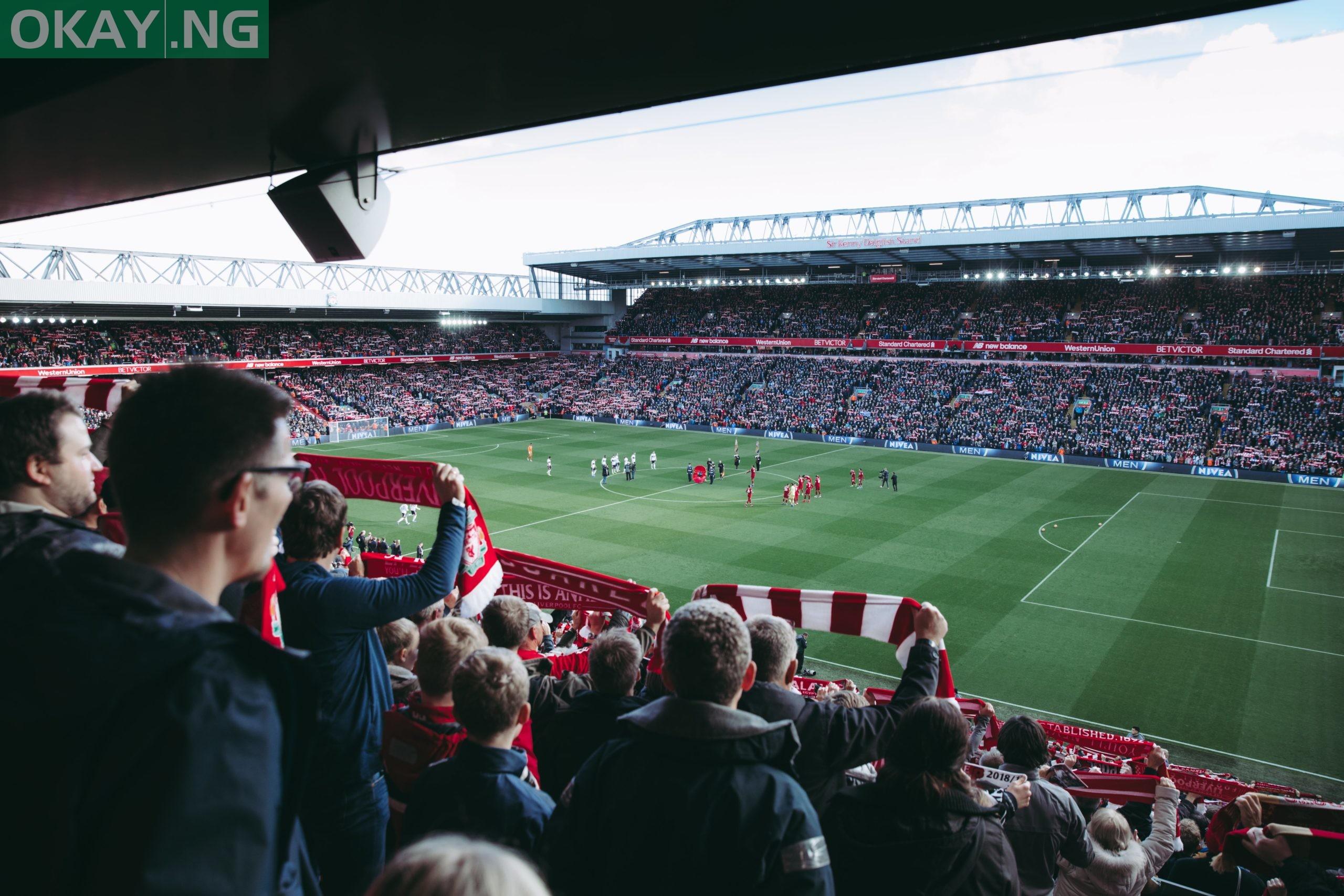 Liverpool's emblematic Anfield Stadium