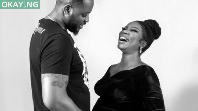 Photo of Valentine's Day: Bam Bam flaunts baby bump in new photo with her husband Teddy A
