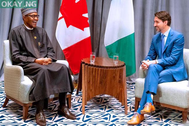 Photo of AU Summit: Buhari, Canada's Trudeau meet in Addis Ababa