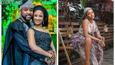 Photo of Banky W marks Adesua's birthday with lovely message