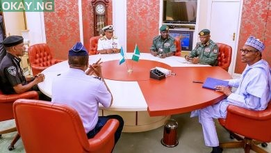 Photo of Buhari, service chiefs hold special meeting in Aso Rock (Photos)
