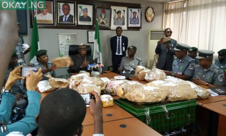 Photo of Nigeria Customs seize $8m cash at Lagos airport