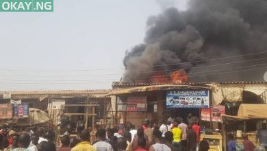 Photo of Abuja: Fire destroys shops at Jabi motor park (Photos)