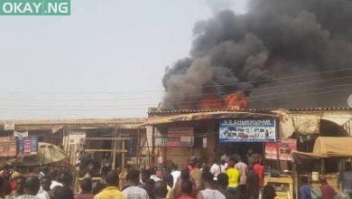 Photo of Abuja: Fire destroys shops at Jabi motor park (Photos)