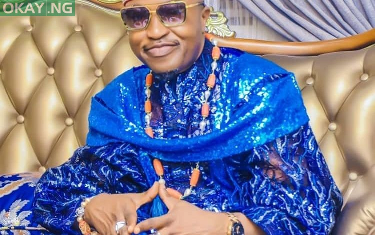 Photo of Oluwo of Iwo's video wrapping marijuana surfaces online