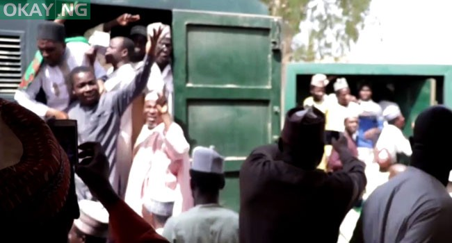 Shiite Members jubilate on release from detention after 4 years