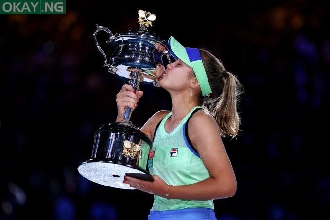 Sofia Kenin wins first Australian Open