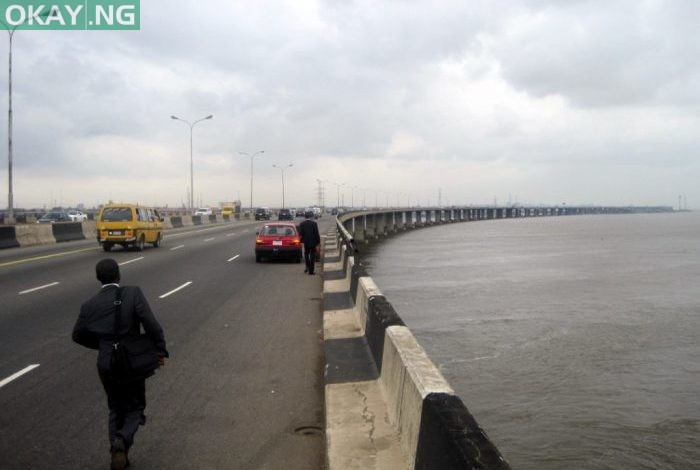 Photo of Man plunges into Lagos lagoon from 3rd Mainland Bridge