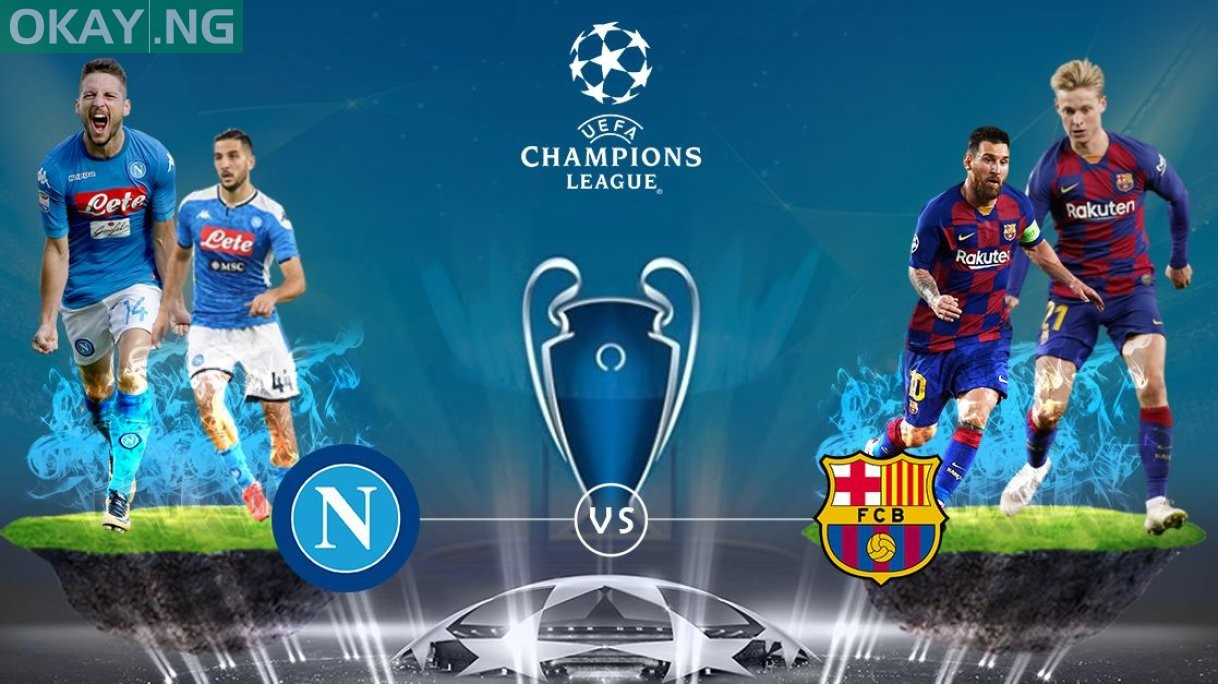 Champions League Napoli Vs Barcelona U2013 Official Starting
