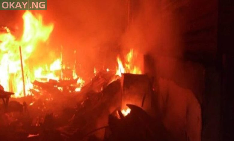 Photo of Fire guts Mammy market of Mogadishu Cantonment in Abuja