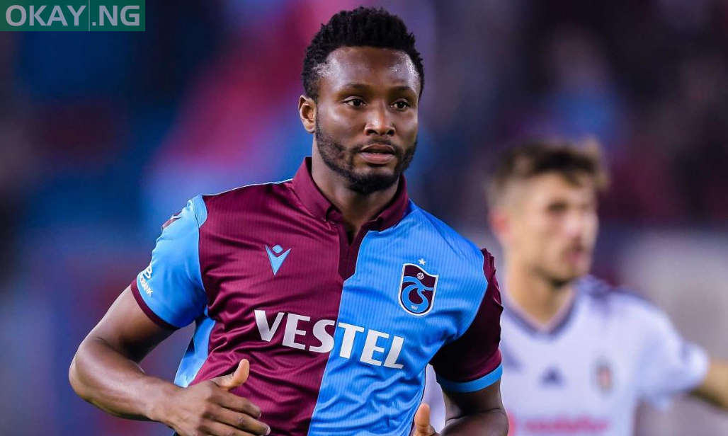 Photo of John Mikel Obi suffers racist abuse in Trabzonspor 2-1 home victory over Fenerbahce