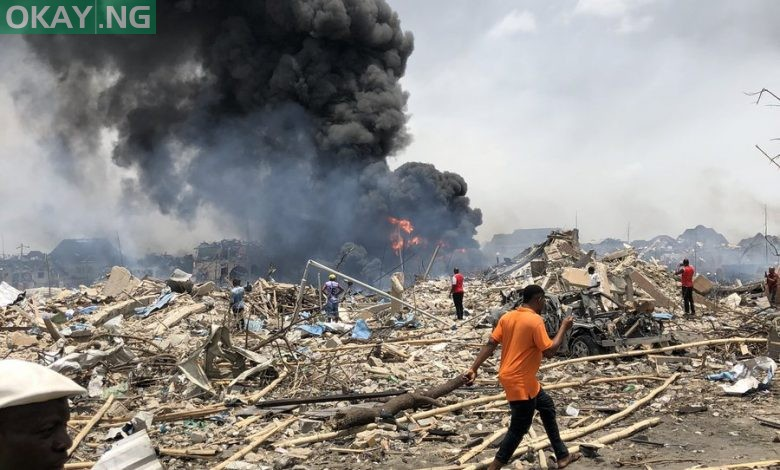 Photo of LASEMA recovers 17 dead bodies, rescues 25 from Abule Ado explosion