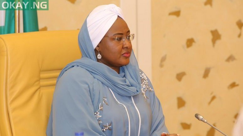 Photo of Aisha Buhari reportedly flown out of Nigeria for medical treatment