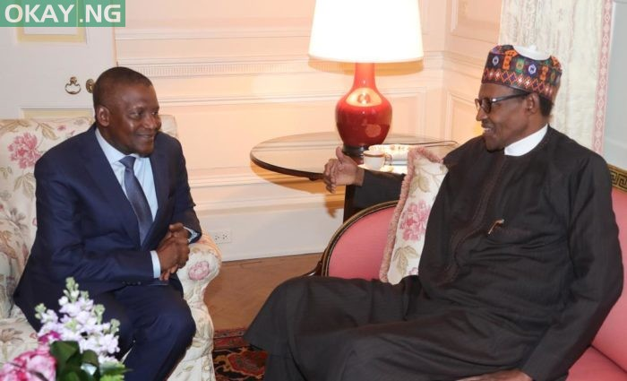 Photo of Buhari commends Dangote for donating N200m to fight coronavirus in Nigeria