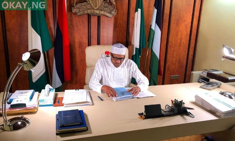 Photo of Buhari asks Senate to confirm Dongban-Mensem as Appeal Court President