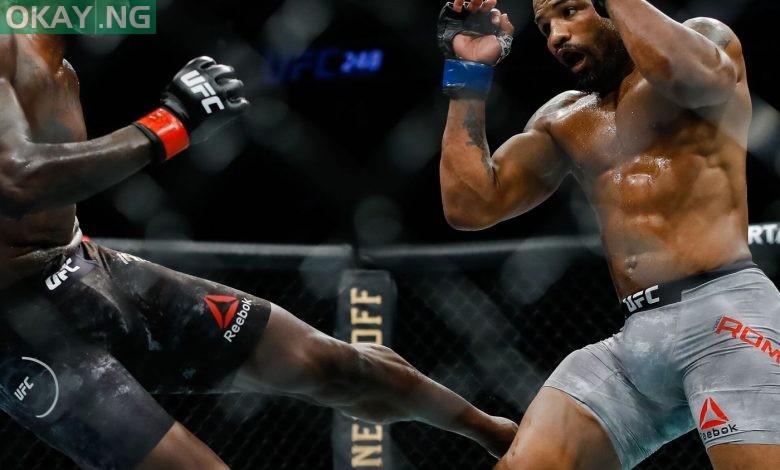 UFC: Israel Adesanya beats Yoel Romero to defend middleweight title