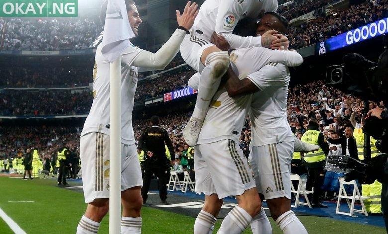 Photo of El Clasico: Real Madrid whip Barcelona 2-0 to top La Liga