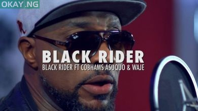 "Photo of Black Rider features ""Cobhams Asuquo & Waje"" on ""The Black Rider"""