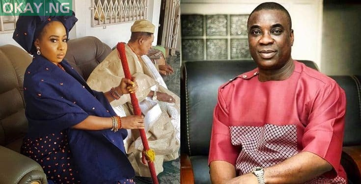 Photo of K1 De Ultimate reacts to alleged love affair with Alaafin's Queen Ola